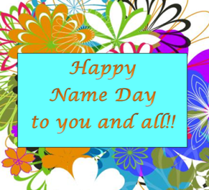 Happpy Name Day All