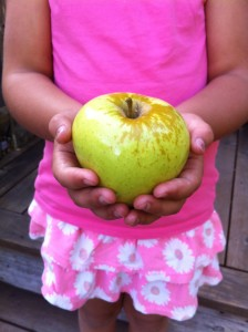 Jo with Apple